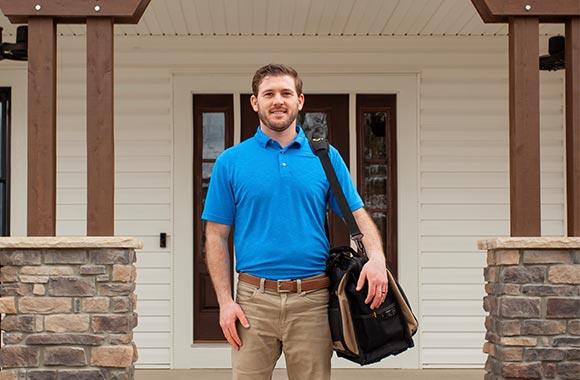 Tyler Battershell, licensed home inspector in Fort Wayne, Indiana